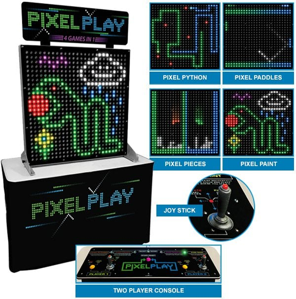 Pixel Play Arcade Game